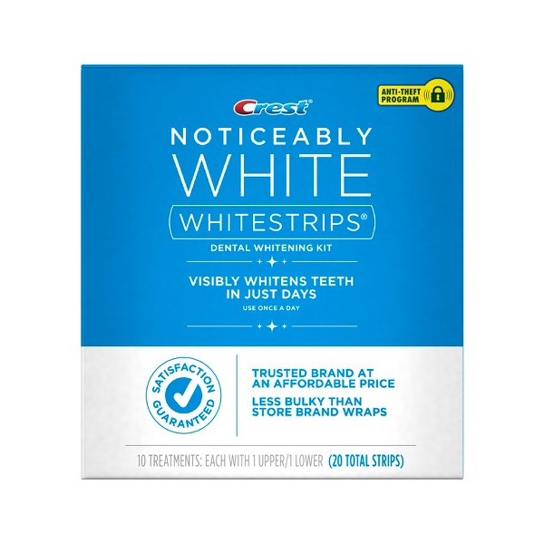 Избелващи ленти Crest 3D White Whitestrips Noticeably White Teeth Whitening Kit