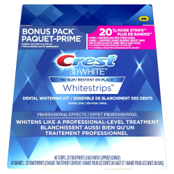 Crest 3D White Professional Effects + BONUS 20%
