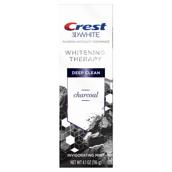 Избелваща паста Crest 3D White Whitening Therapy – Charcoal