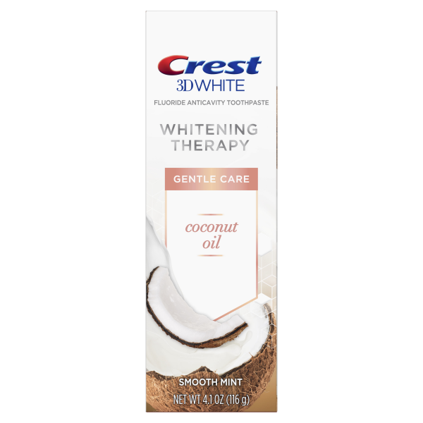 Избелваща паста Crest 3D White Whitening Therapy – Coconut Oil