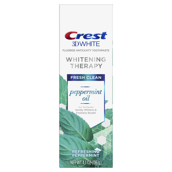 Избелваща паста Crest 3D White Whitening Therapy – Peppermint Oil