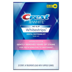 CREST 3D WHITE NO SLIP Gentle Routine